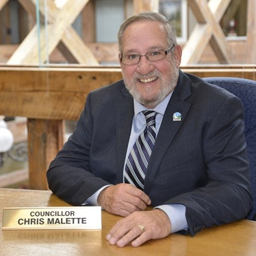 Photo of Councillor Chris Malette.
