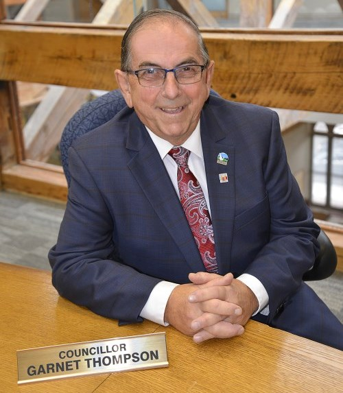 Photo of Councillor Garnet Thompson.