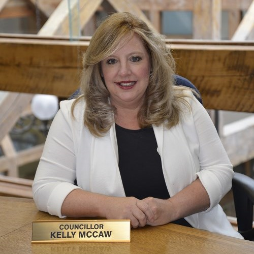 Photo of Councillor Kelly McCaw.