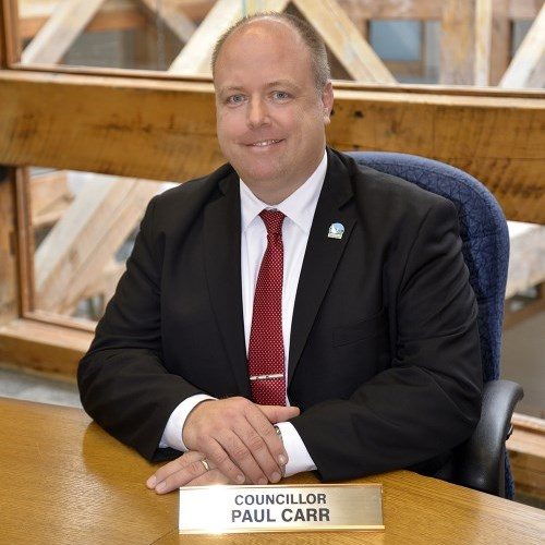 Photo of Councillor Paul Carr.
