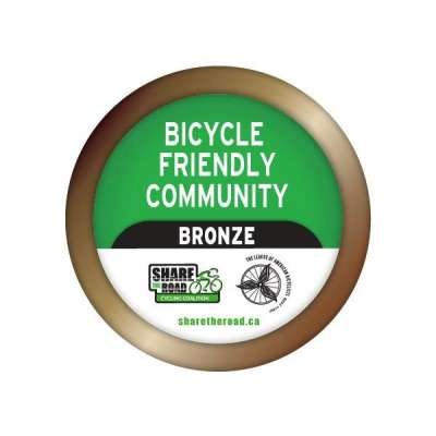 Image of Bronze Bicycle Friendly Community Award