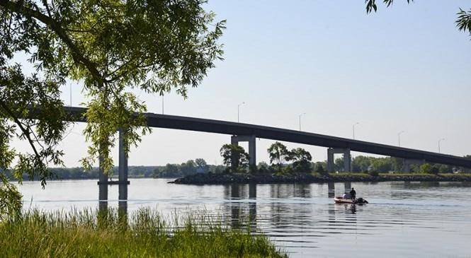 Bay Bridge from Zwick's Park