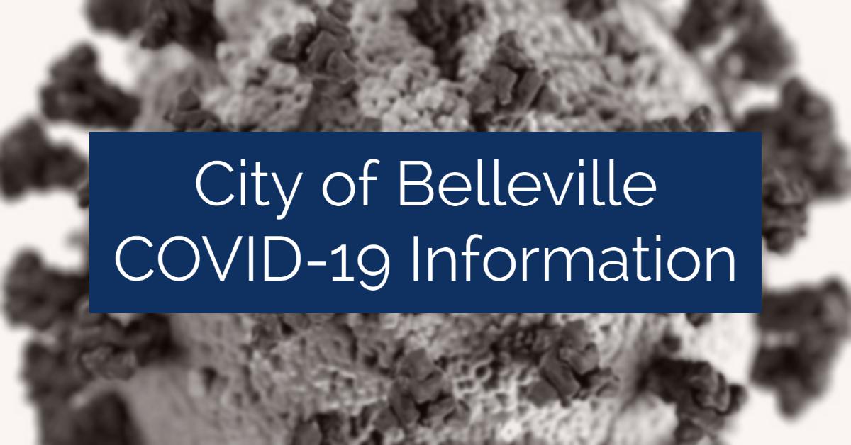 City of Belleville COVID-19 Information